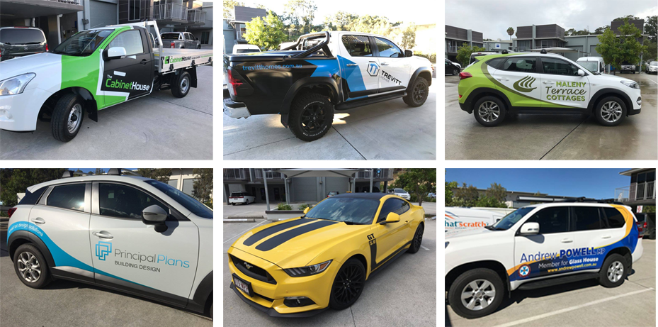 Computercut Signs Caloundra - Vehicle Wraps