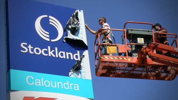 Computercut Signs Caloundra - Sunshine Coast Leaders in Fabrication and Sign Boards - Stockland Shopping Centre Sign