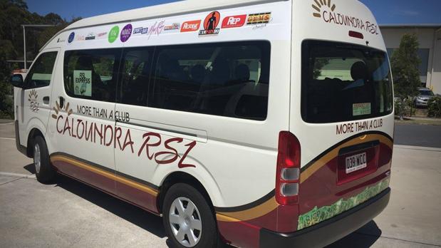 Computercut Signs Caloundra - Sunshine Coast Leaders in Vehicle Wraps - Mini Bus Wraps