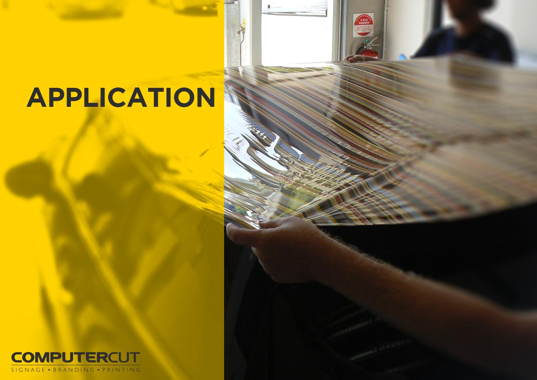 Portfolio - Computercut Signs Caloundra - Project Slideshow - Slide 07 Application