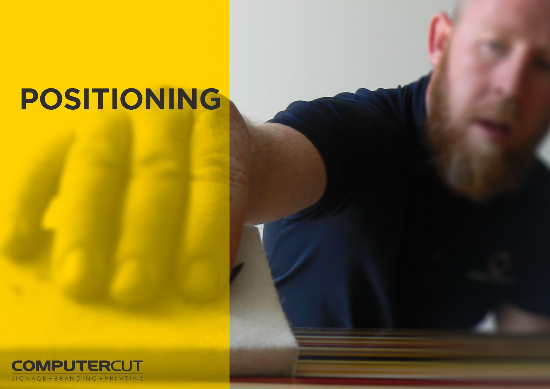 Portfolio - Computercut Signs Caloundra - Project Slideshow - Slide 08 Positioning