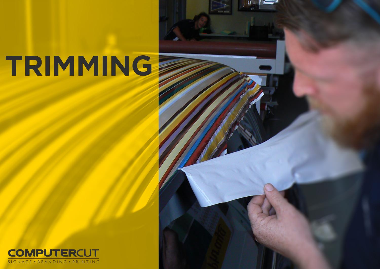 Portfolio - Computercut Signs Caloundra - Project Slideshow - Slide 09 Trimming