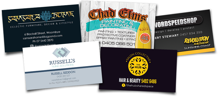 Computercut Signs Caloundra - Sunshine Coasts Premiere Provider of Business Stationery - Business Cards