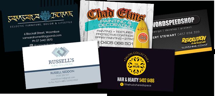 Computercut Signs Caloundra - Sunshine Coasts Premiere Provider of Business Stationery - Business Cards