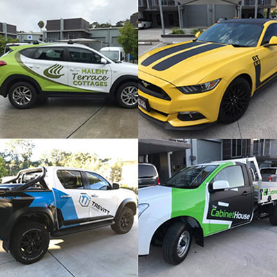 Computercut Signs Caloundra - Various Car wraps